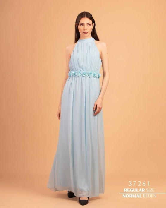 kleit maxi sifoonlilled
