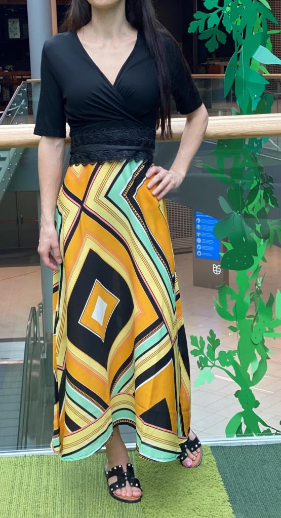 kleit pikk kollane