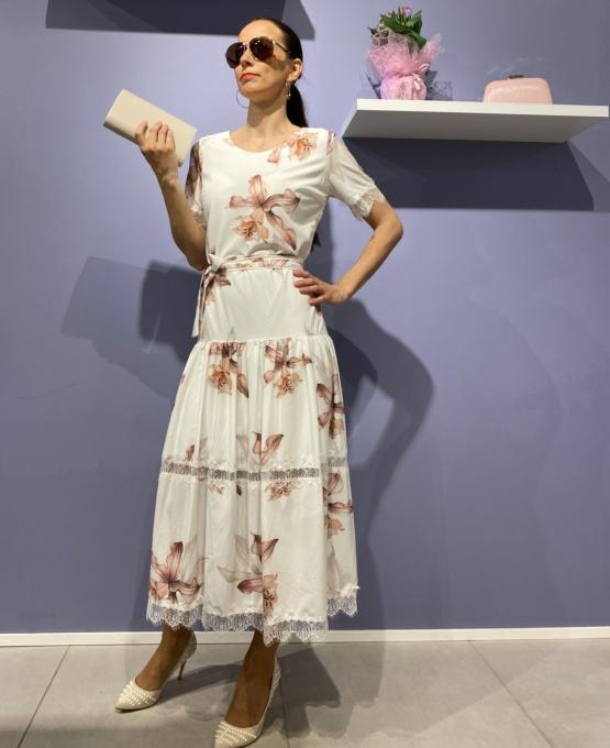 kleit midi lilleline
