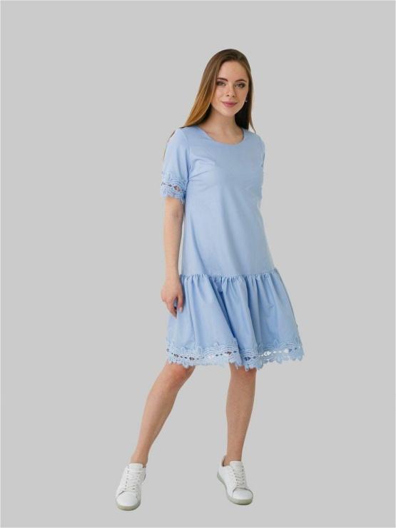 kleit sinine pitsist äär