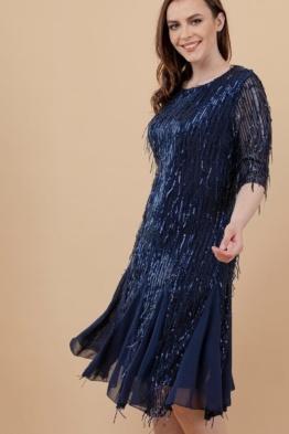 kleit pidulik litter narmastega